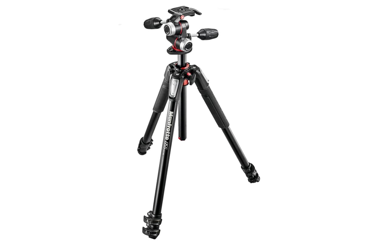 Manfrotto MK055XPRO3-3W 055 Tripod with 3-Way Head