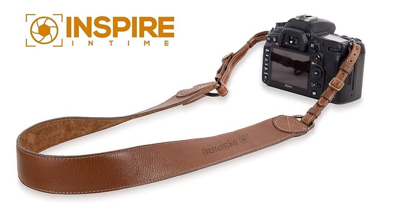 Inspire In Time Camera Neck Strap - Genuine Leather With Adjustable Straps and Universal Interfaces Review