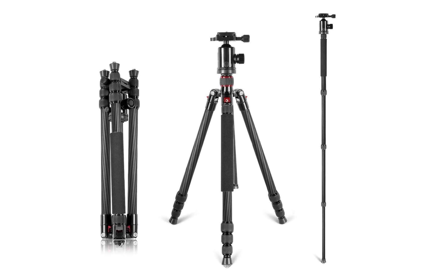 "Neewer Carbon Fiber 66"" Tripod With Ball Head Review"