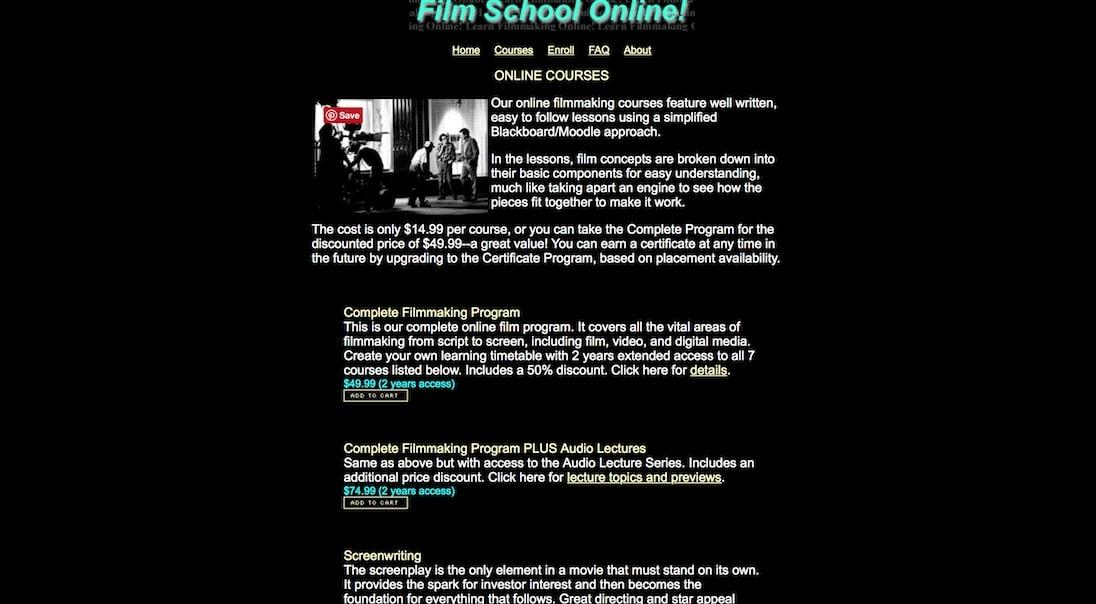 Film School Online - Screenwriting
