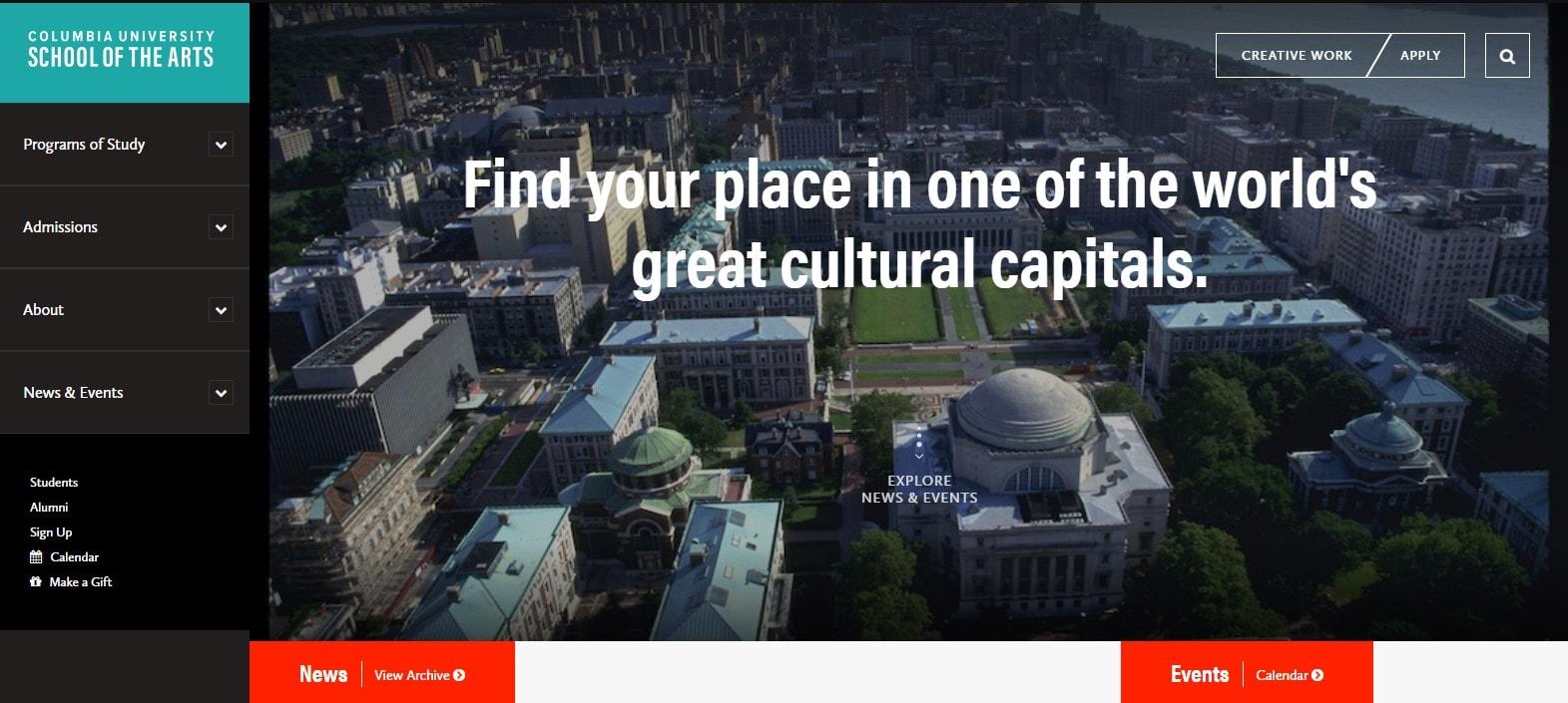 Columbia University School of the Arts