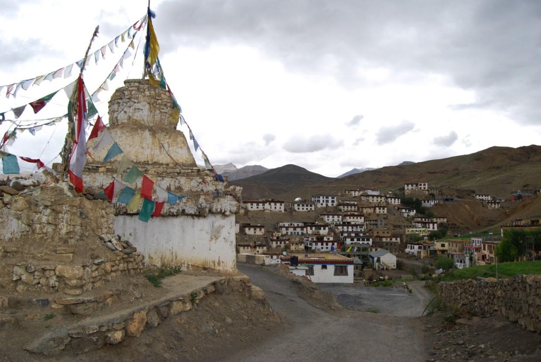 Kibber village of Spiti