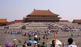 The Pros and Cons of Taking a Group Tour - The Forbidden City in Beijing, China.