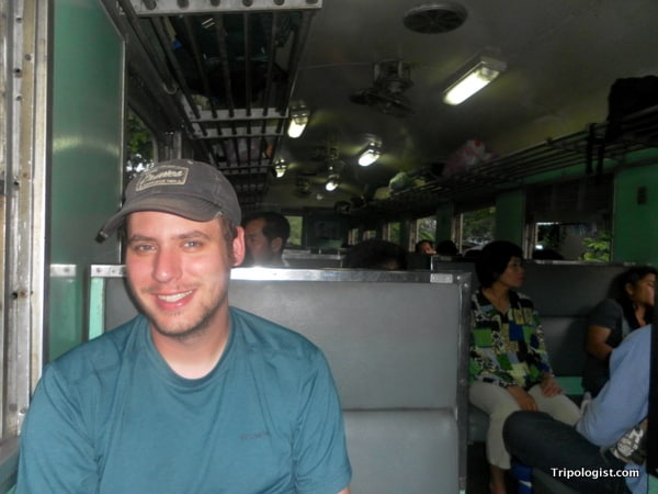 Taking the train from Bangkok to the Thai/Cambodian border at Poipet may be slightly uncomfortable, but it's really inexpensive and helps beat some of the most common travel scams.