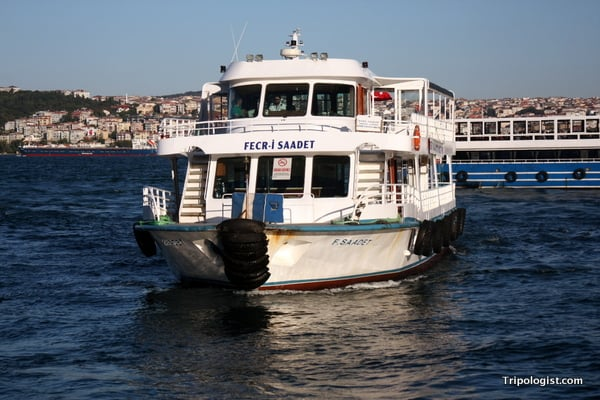 Hop on a public ferry in Istanbul, Turkey, and save up to 90% on your Bosphorus River Cruise.
