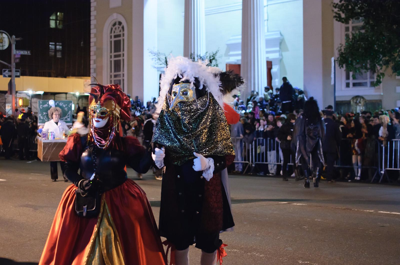 New York Halloween parade