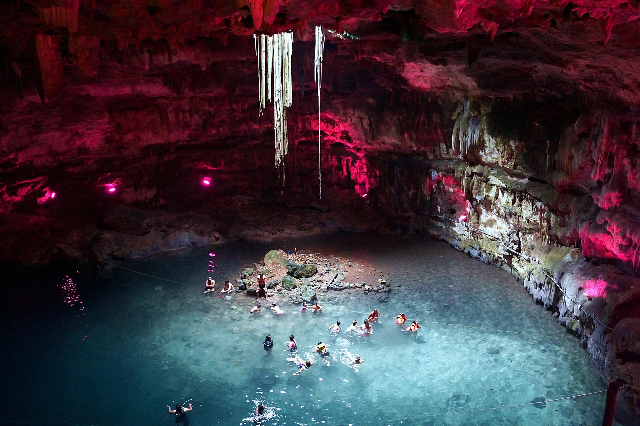 Cenote Samula, Dzitnup