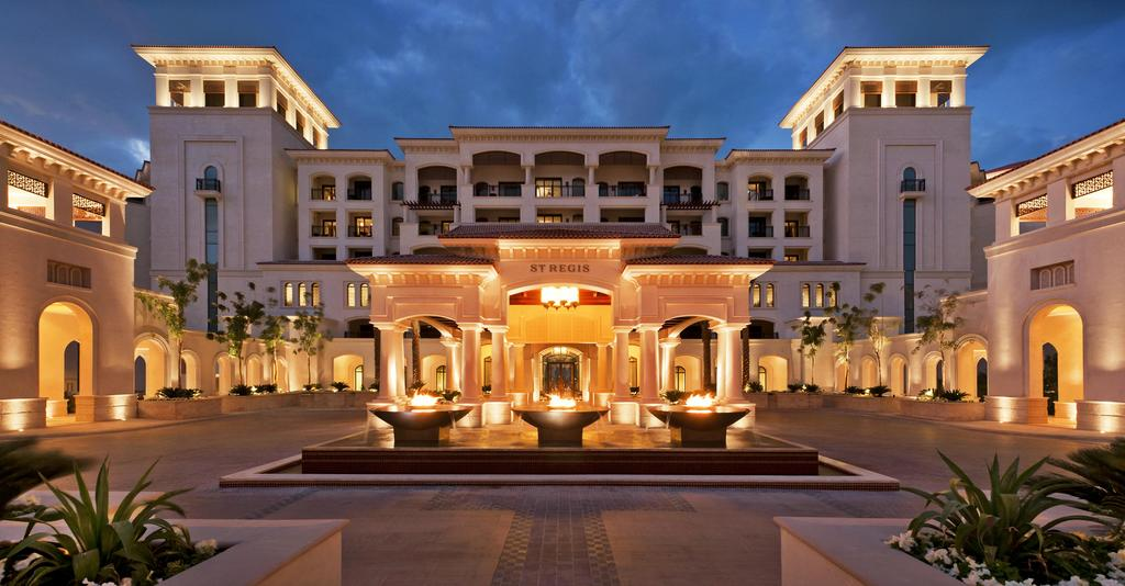 The Royal Suite at St. Regis Saadiyat Island, in the United Arab Emirates