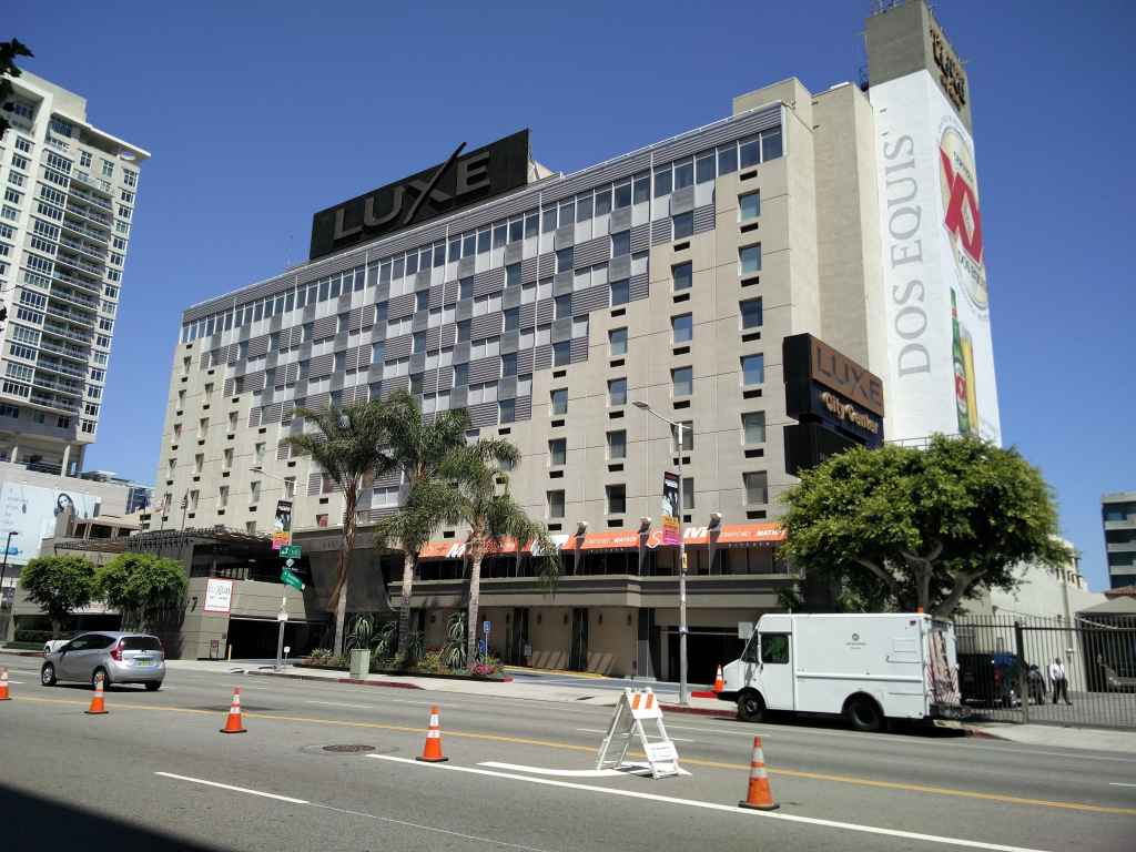City Centre Hotel, Los Angeles
