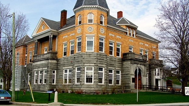 Haskell Free Library and Opera House- Stanstead, Quebec Canada