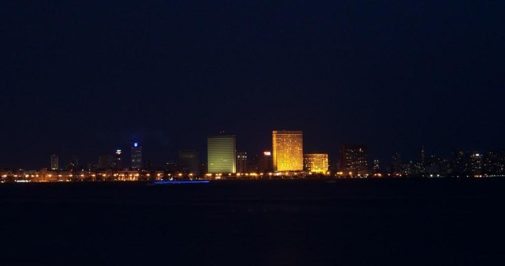 Mumbai nightlife city in India