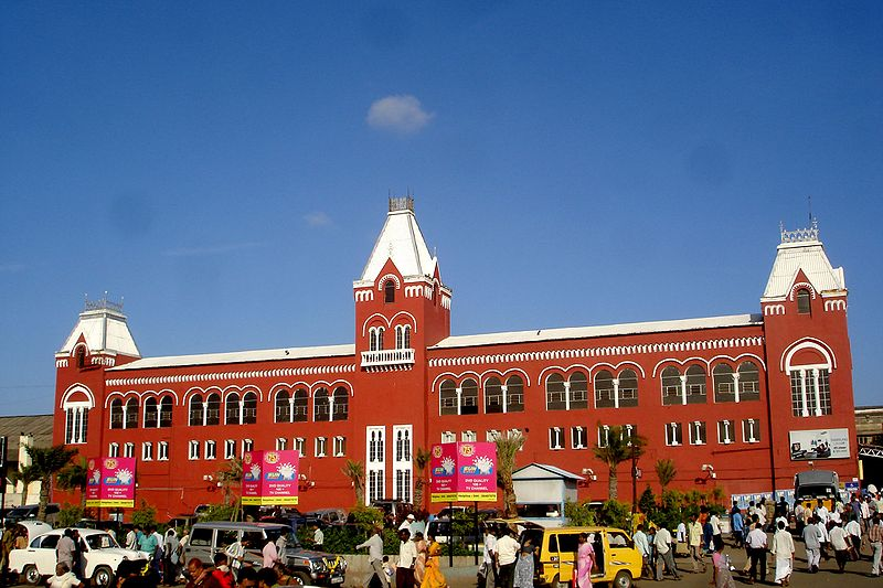 Chennai Central Railway Station, Chennai Biggest Railway Stations in India