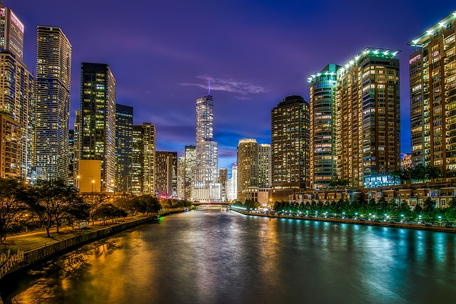 Chicago  best places to travel alone in US.