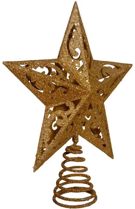 Glittered Christmas Tree Star