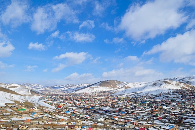 Mongolia Landlocked Countries