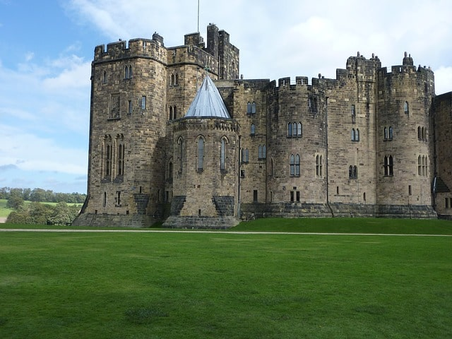 Alnwick Castle, England: Harry Potter Filming Locations