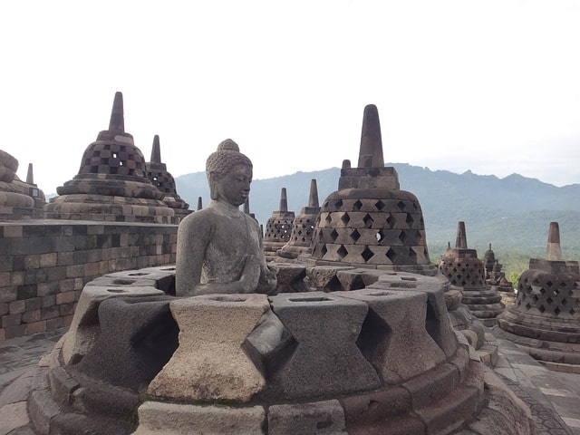 Borobudur Places To Visit In Indonesia