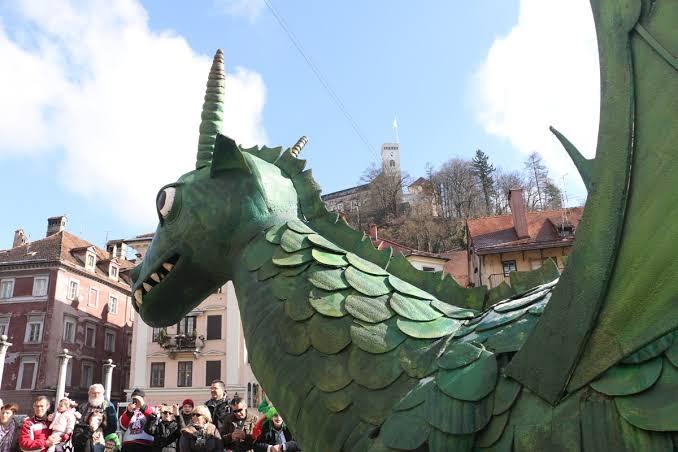 Dragon Carnival- Ljubljana, Slovenia