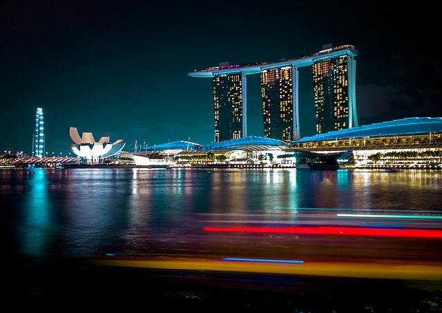 Marina Bay Sands Singapore for Honeymoon