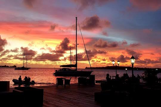 Enjoy the sunset sailing Things To Do In Bora Bora
