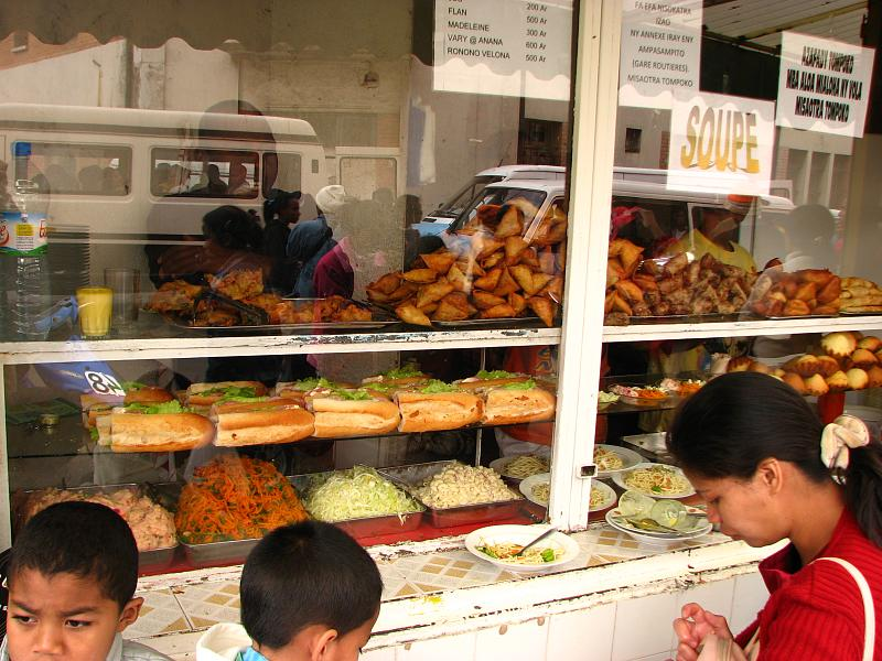 Try street foods in Antsirabe, Madagascar