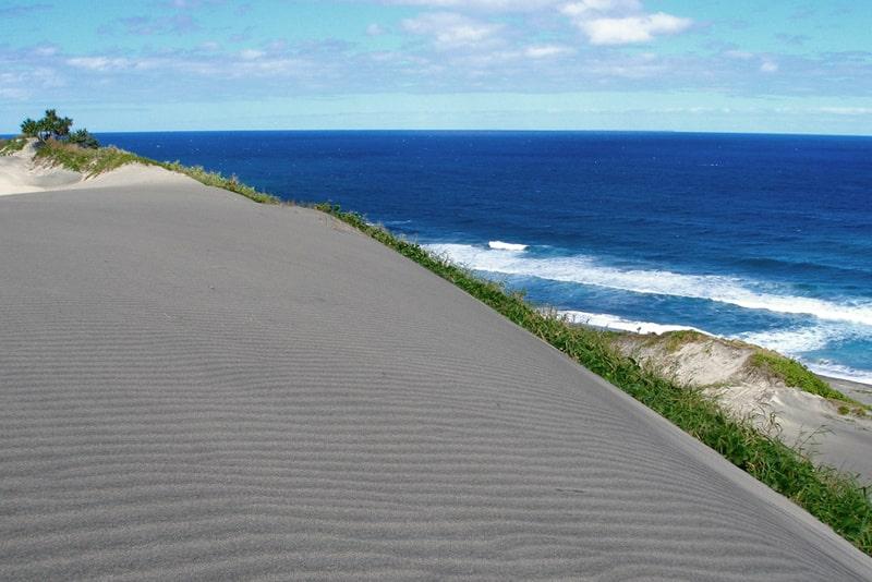 Visit the Sigatoka Sand Dunes National Park