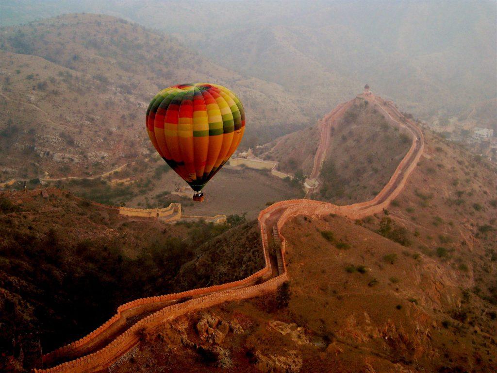 Maharashtra: Hot Air Balloon Ride In India