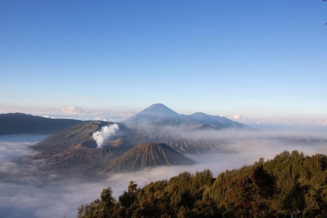 Mount Bromo and Mount Semeru