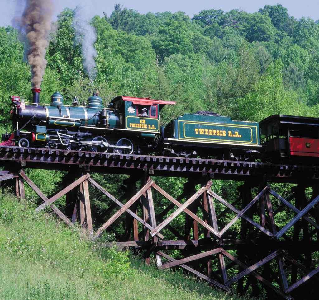 Tweetsie Railroad attractions in Boone NC