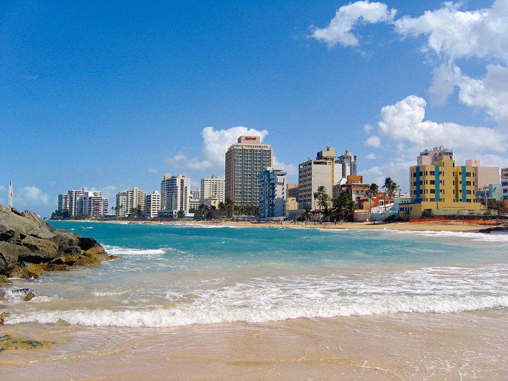 Puerto Rico : Condado Beach