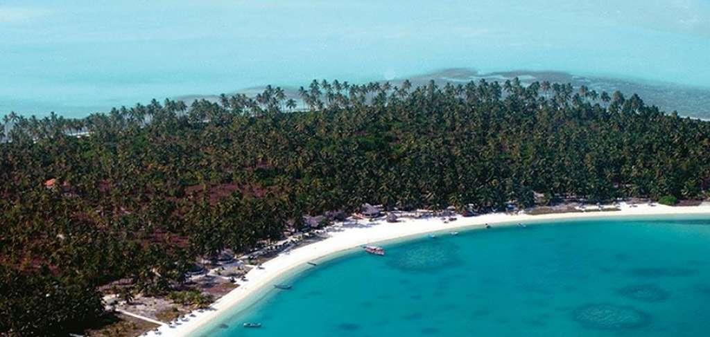 Lakshadweep Coral island