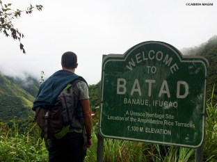 Welcome to Batad!