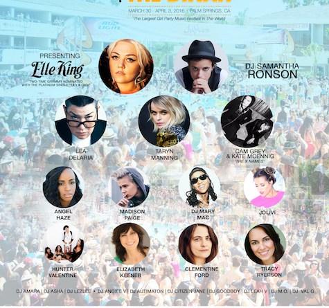 Dinah 2016 Line-Up