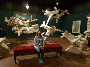 Paper planes on steroids art