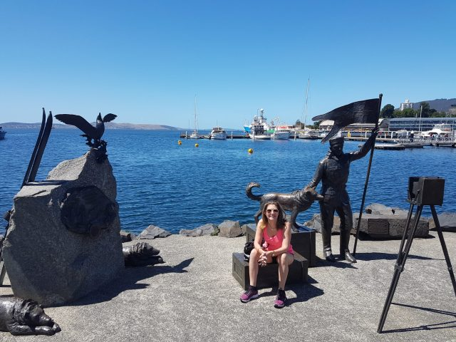 Hobart Things to Do - Relaxing on the Hobart Waterfront