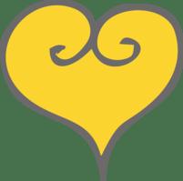 Trip Over Travel Blog gold heart