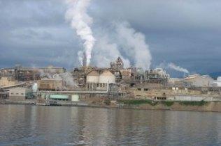 Nyrstar Zinc Smelter Hobart, by day