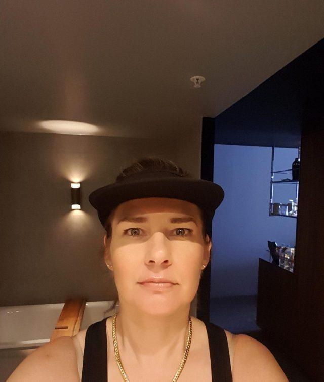 Danae in the MACq 01 Hotel Superior Waterfront Bathroom