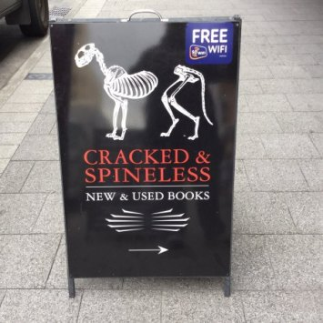 Hobart Things to Do - visit Cracked & Spineless Secondhand Bookshop