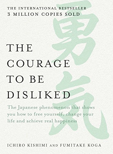 Japanese bestseller book - The Courage to be Disliked