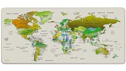 MONA Review - Jialong world map mouse pad colour