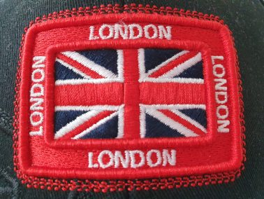London Union Jack badge