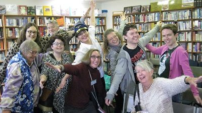 Danae with Mentone Public Library supporters