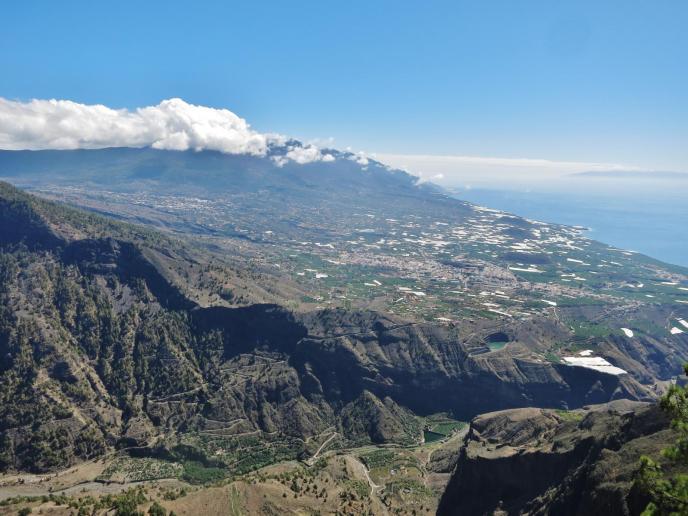 Blick ins Aridane Tal