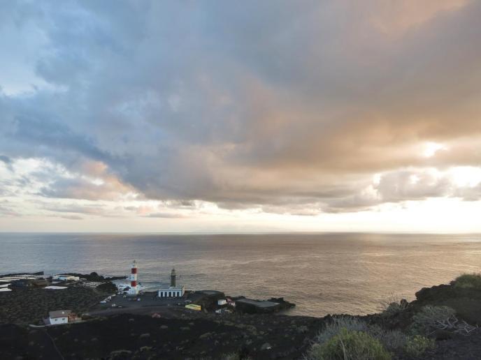Sonnenuntergang am Südzipfel der Insel