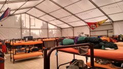 The Tent in Munich, Germany is one of the cheapest places I've ever stayed.