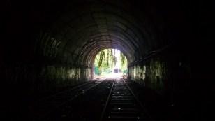 Abandoned railway tunnel, Paris, France.