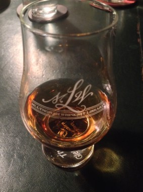 Scotch in glass