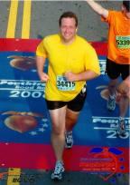 2006- Looking like a large smiling banana.