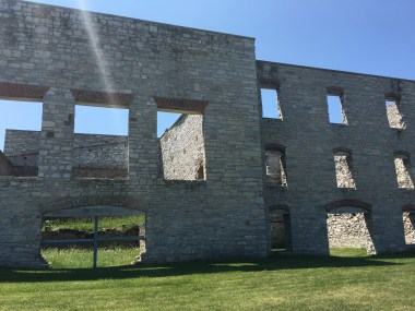 Fayette Historic State Park ghost buildings
